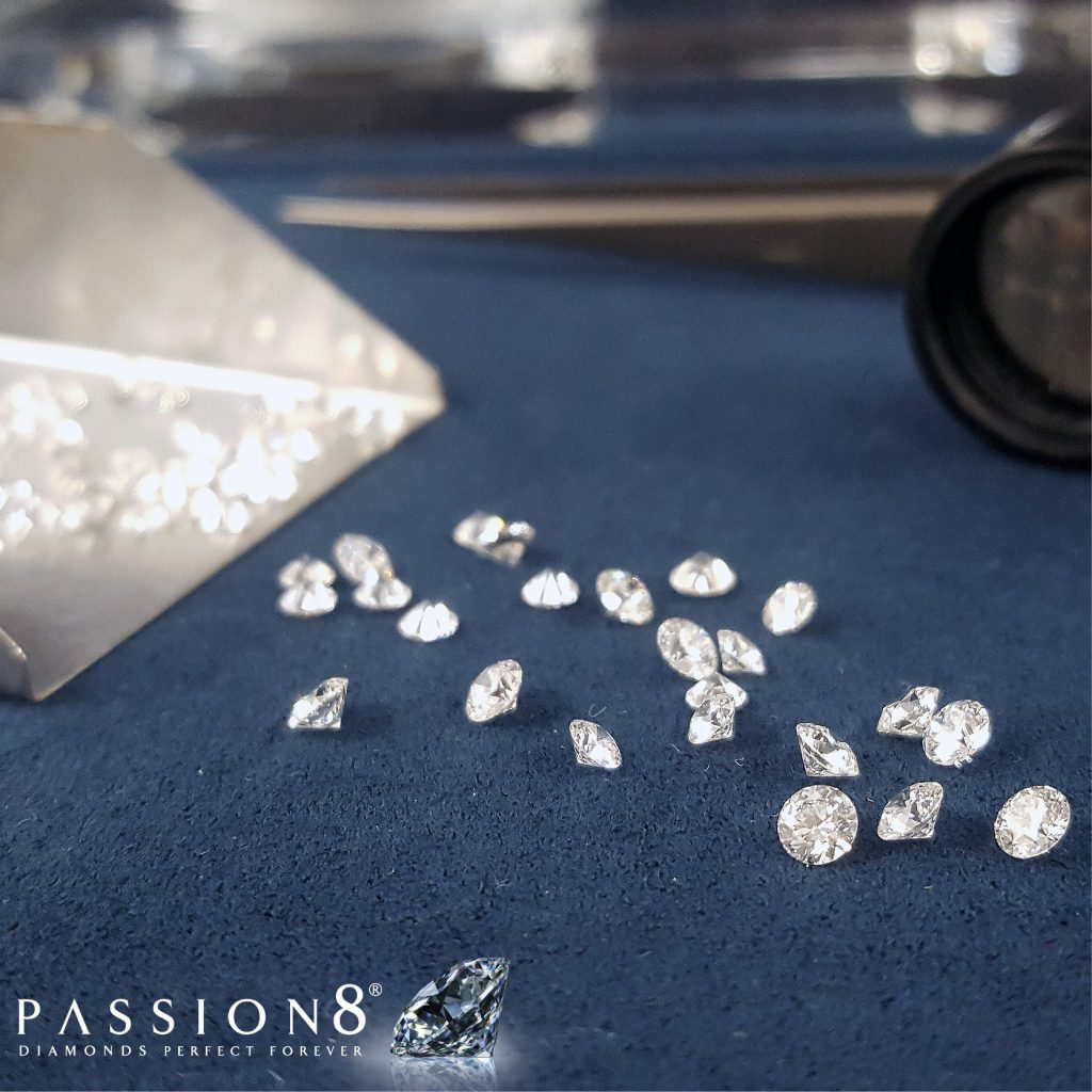 Loose Diamonds At Passion8