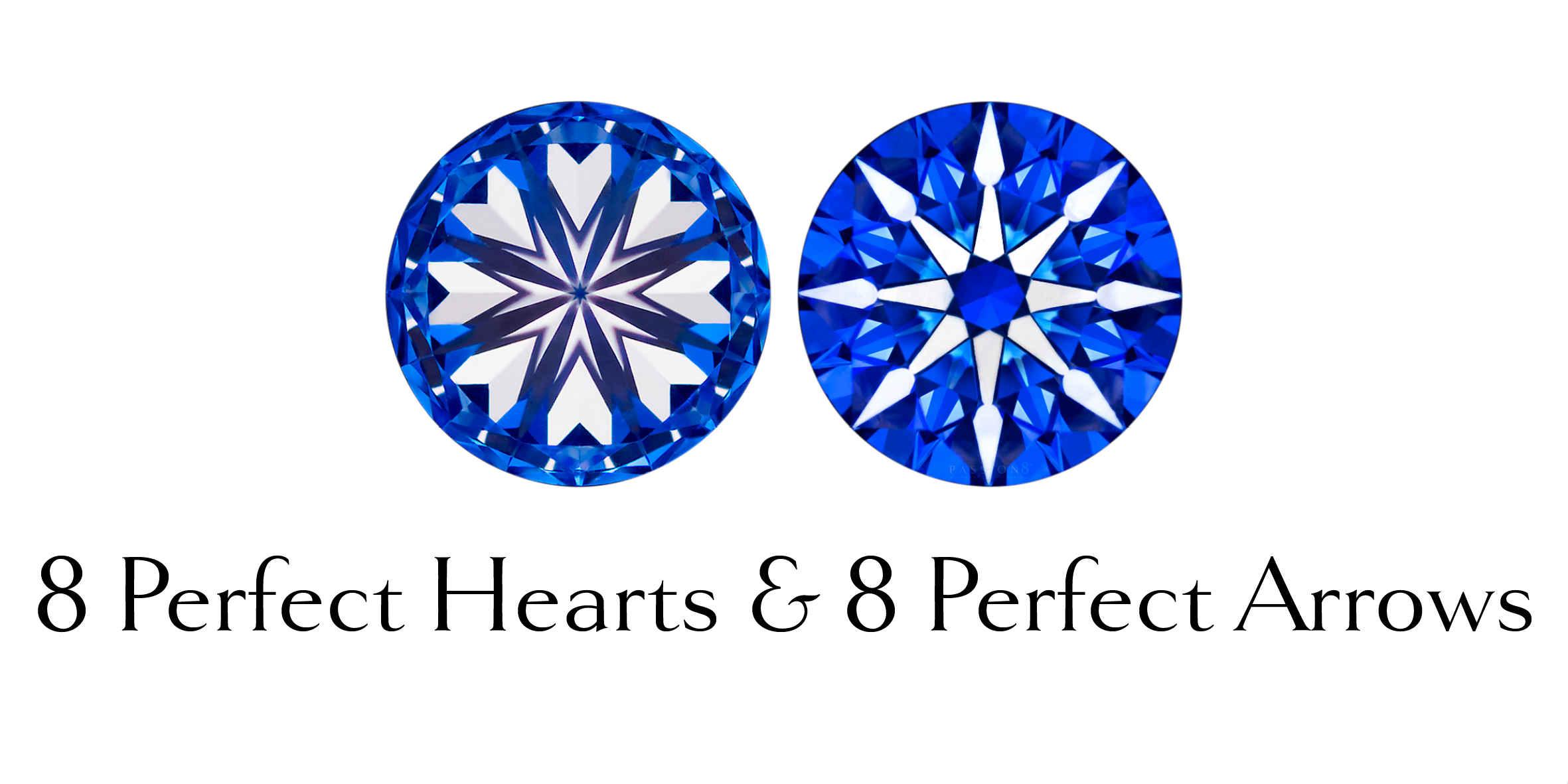 8 Perfect Hearts & 8 Perfecet Arrows