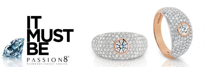 Stella - One of Passion8 Diamonds Limited Edition Rings.