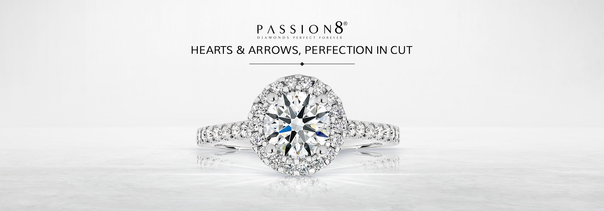 Hearts & Arrows, Perfection In Cut At Passion8