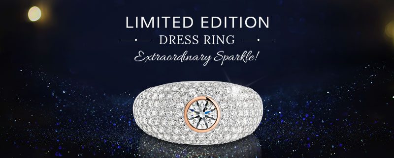 Limited Edition Dress Ring At Passion8 Diamonds